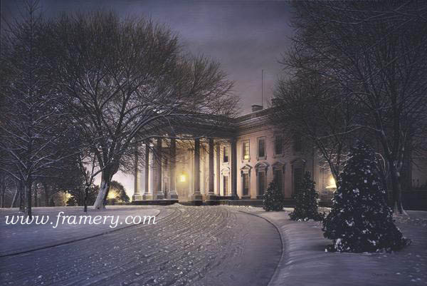 """AMERICA'S HOME Print:  Image size 20 X 30"""" Canvas:  Image size 24 X 36""""  Call for current price"""