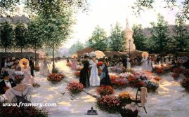 APRIL IN PARIS by Christa Kieffer In stock and available - Current price $135