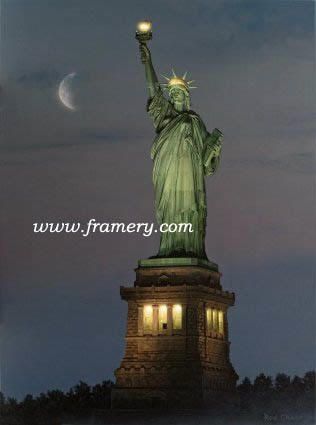 "BEACON OF HOPE Statue of Liberty Giclee on Canvas 24 X 18"" $495 Print on Canvas 24 X 18"" $200 Print on paper 24 X 18"" $175"