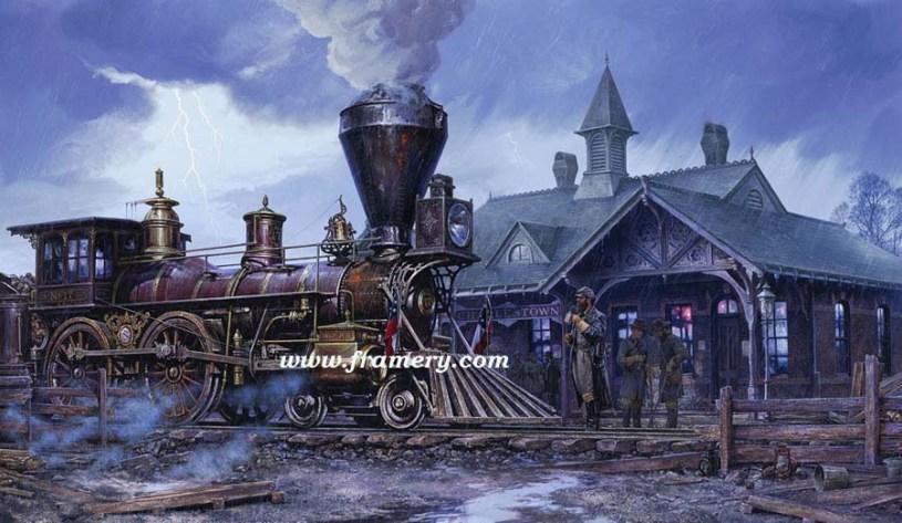 CHARLESTOWN STATION Stonewall Jackson at Charlestown Station May 30, 1861 Current price - Call