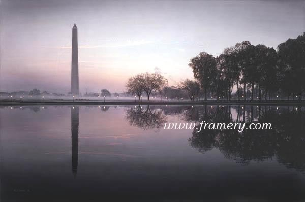 "DAWN'S EARLY LIGHT Print -- Image size 20 X 30"" Canvas -- Image size 24 X 36""   Call for current prices"