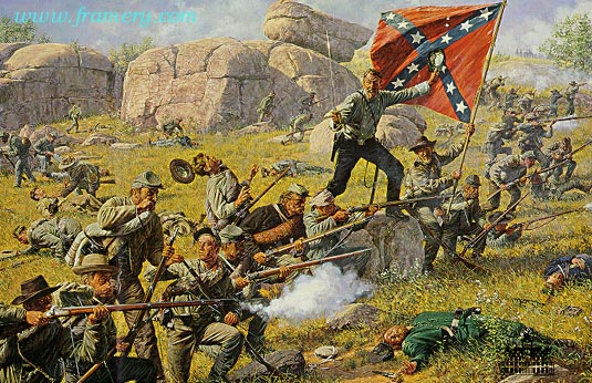 DEVIL'S DEN July 2, 1863 - 4:30 p.m. In stock and available Current price - $195