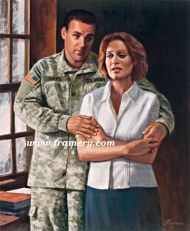 """DUTY CALLS AGAIN Image size 16.5 X 20"""" Modern version of Stivers' classic, """"Duty Calls"""" Current price - Call"""