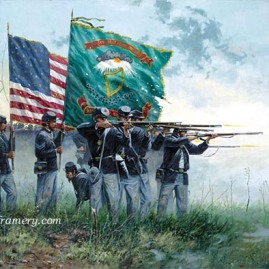 FIGHT'N IRISH by Dale Gallon Celebrating the gallantry and bravery of the Irish Brigade Call for availability and price.