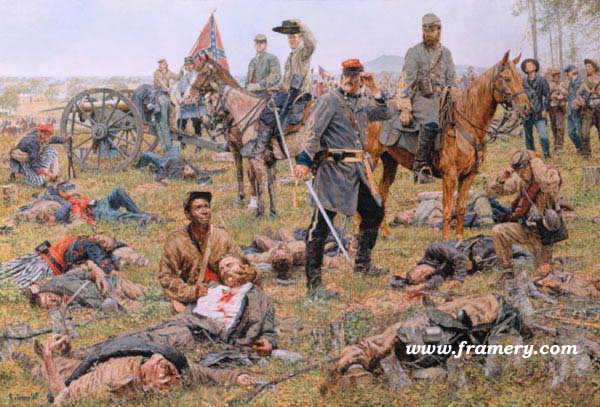 THE GRIM HARVEST OF WAR by Bradley Schmehl In stock and available Current price - $195