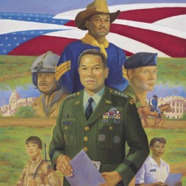 MILES TO GO BEFORE WE SLEEP--ONE by Ernest Varner Paying tribute to Gen. Colin Powell In stock and available Current price - $150