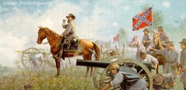 OLD PETE by Dale Gallon Gen. James Longstreet at Gettysburg, July 3, 1863 In stock and available Current price - $270