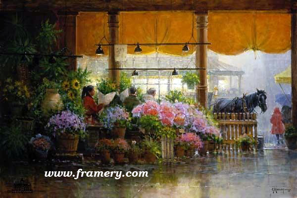 """PIKES PLACE - PUBLIC MARKET Image size 20 X 30"""" Current price - Call"""