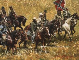 REBS by Don Stivers Now Taking Orders To honor the 150th anniversary of the first shots of the Civil War being fired at Ft. Sumter, SC on April 12th. Image size 18 X 23.5 Lim Ed Giclee on Hahnemuhle Paper - $250 Signed by artist's daughter.