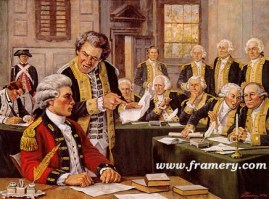 """YOU, SIR, ARE A SPY"" The trial of British Major John Andre, co-conspirator of Benedict Arnold. 1780. Commemorates the 225th Anniversary of the Judge Advocate General's Corps of the U. S. Army Image size 18 X 24.5"" In stock and available Current price - Call"