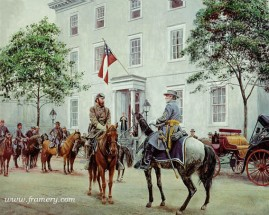 THE HIGH COMMAND The Confederate White House July 13, 1862 In stock and available Current price - $200