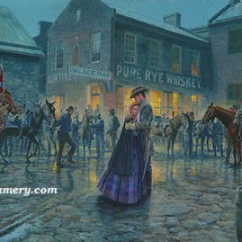 THE PALACE BAR A farewell embrace in Winchester, Va. In stock and available Current price - $300
