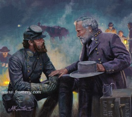 "TACTICS AND STRATEGY Jackson and Lee at Chancellorsville May 1, 1863 Image size 9"" X 11"" In stock and available Current price - call for price"